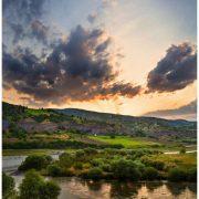 طبیعت منطقه شیخ ابراهیم بادام و رودخانه زاب
