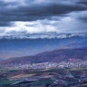 نمایی زیبا از شهر ربط