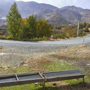 طبیعت پاییزی و نمایی از روستای بێوران
