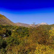 : نمایی زیبا از طبیعت روستای بیوران