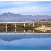 دریاچه سردشت و پل جدید