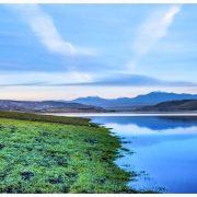 غروب دریاچه سردشت
