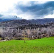 طبیعت روستای پاشقەبران