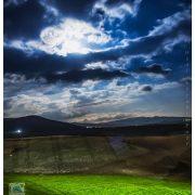طبیعت اطراف ربط در شب
